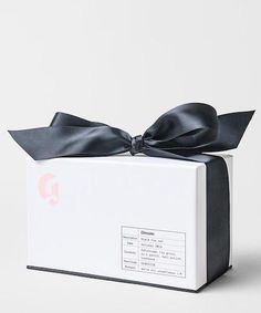 Glossier Back Tie Set Launch - Holiday Beauty Products | The direct-to-consumer company gets fancy with its limited-edition collection. #refinery29 http://www.refinery29.com/2016/11/128312/glossier-black-tie-set-launch
