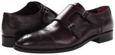 Burgundy Leather Double Monks by Johnston & Murphy. Buy for $165 from 6pm.com