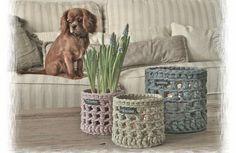 Ideas y patrones para decorar la casa con trapillo