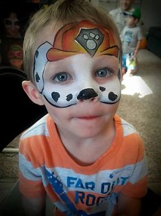 Face Painting Designs, Body Painting, Paw Patrol Face Paint, Pastel Bob, Bar Mitzvah Invitations, Party Invitations, Cheek Makeup, Blacklight Party, Halloween Crafts For Toddlers