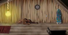 Sneak peek of upcoming app adventure game !! #marimation #illustrator #illustration #artist #attic #drawing #digital #wacom #carpet #floor #wood #lamp #bear #guitar #old #light #note #darts #board #ironing #ladder #adventure #riddle #android #ios #app #application #game #art