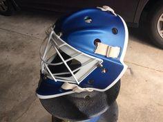 Goalie Gear, Goalie Mask, Football Helmets, Hockey, Masks, Cool Stuff, Goalkeeper, Cool Things, Field Hockey