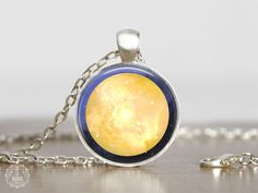 Sun Pendant Necklace   Sun Necklace Sun Jewelry Space Jewelry Watercolor Galaxy Necklace Astronomy Science Planet Jewelry Outer Space Grunge by AgeOfAkuarius on Etsy