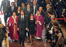 Los Reyes presiden el funeral institucional por las víctimas de la tragedia aérea de Germanwings