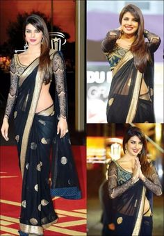 Not sure if the sari is more beautiful or pc