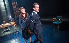 Penelope Wilton and John Light in Taken At Midnight. Theatre Royal Haymarket.