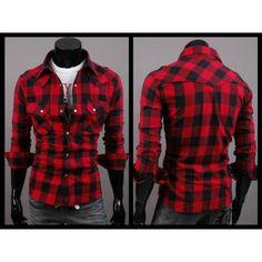 19b6b1d86e07c camisa leñadora roja hombre - Buscar con Google