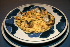 Spaghetti alle vongale http://jackie-cuisine.over-blog.com