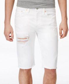 Levi's® Men's 511 Slim-Fit Cutoff Ripped Jean Shorts