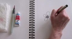 the evolution of a doodle by Alisa Burke   This is brilliant - am going to try it today