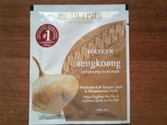 2 Sachets @Annette Brothers Natural Organic Bengkoang /Jicama Whitening Facial Mask Powder