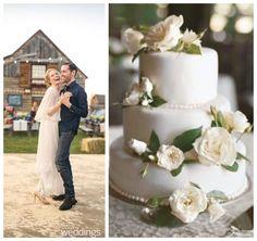 Kate Bosworth Wedding Cake