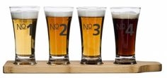 Check this out! The Kitchen Gift Company have some great deals on Kitchen Gadgets & Gifts Sagaform Beer Tasting Set Beer Glassware, Barware, Casual Wedding Groom, Perfect Glass, Beer Tasting, Beer Bar, Dot And Bo, Pint Glass, House