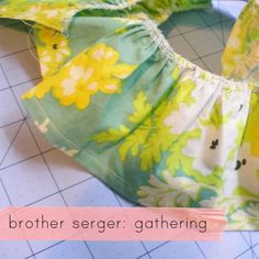 Brother 1034d gathering tutorial