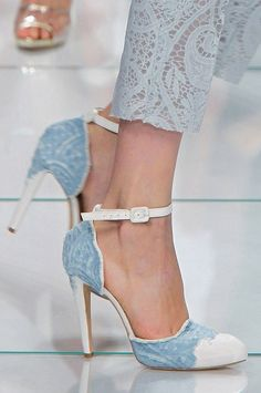 Ermanno Scervino...can I have this shoe in every color? I swear I would wear a pair every day.
