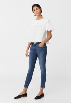 Mango - ISA - Jeans Skinny - medium blue