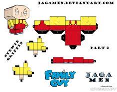 Stewie Griffin Cubeecraft Part 2 by JagaMen.deviantart.com on @DeviantArt