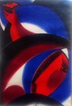 Milan Laluha - Dve tetky, pastel, 40x28cm, 2350 €, rámovaný