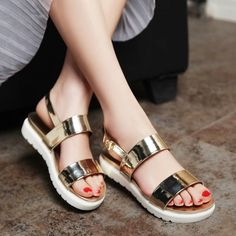 874954dd261 New Stylish Summer Sandal Beach Shoes Womens Buckle Strap Open Toe Sandal  Shoes