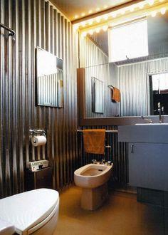 Ambiance vintage dans les WC