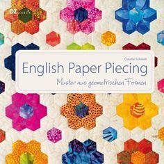 English Paper Piecing mit Claudia Schmidt, Schablonenkosmos von über 100 versch. Schablonen in metrischen Maßen - English Paper Piecing mit Claudia Schmidt
