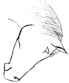 easy+horse+drawings   Horse Head Drawing - Delazious.