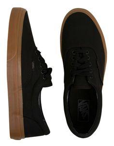 Vans Era Black Gum Sole