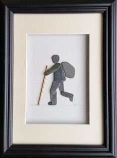 The Walker Pebble Art Cornish Pebble Art Gifts for him