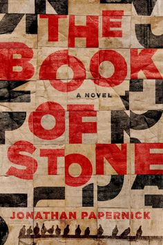 The Book of Stone: A Novel: Jonathan Papernick – reminds of Elsworth Kelly Best Book Covers, Beautiful Book Covers, Book Cover Art, Book Cover Design, Book Design, Book Art, Design Art, Ex Libris, Paper Weaving