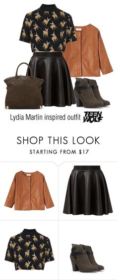 """Lydia Martin inspired outfit/Teen Wolf"" by tvdsarahmichele ❤ liked on Polyvore featuring Toast, Cameo Rose, Oh My Love, Forever 21 and Vince Camuto"