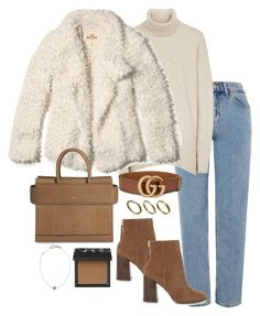 """Untitled #5316"" by theeuropeancloset on Polyvore featuring Hollister Co., ALDO, Gucci, Givenchy, Made, NARS Cosmetics and Kismet"