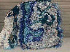 Kayt Ross Crochet: Freeform crochet shoulder bag...  www.vivaciousart.com