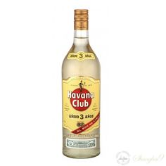 Havana Club - 3 Year Old - Tasting notes    Havana Club 3 Años is the most prestigious of all white rums. It brings a touch of unparalleled class to all cocktails and blends. Havana Club 3 Años is the result of blending aged and aromatic sugarcane aguardientes with extra light sugarcane distillates to produce a selection of young rums. This batch of rums is then allowed to rest in white oak barrels after which the Maestro Ronero chooses the best barrels and blends... (read more...)