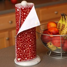 Reusable, Eco Friendly Snapping Paper Towel Set