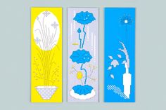 Monthly Flower on Behance Graphic Design Art, Book Design, Simple Poster, Graph Design, Flower Graphic, Architecture Art, Graphic Illustration, Behance, Event Posters