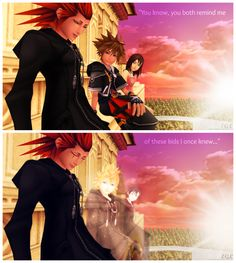 """""""You know, you both remind me of these kids I once knew"""" I'm gonna cry, now. Thanks Axel."""