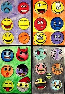 Art Projects for the Classroom – Emoji Design: Show us how you really feel!