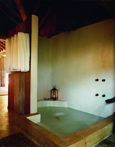 Im in love with this sunken tub in the Seu Joao Casa at Uxua