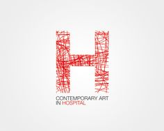 H contemporary art in Hospital by Dalila Piccoli, via Behance