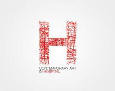 H contemporary art in Hospital by Dalila Piccoli, via Behance