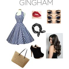 Gingham by mmcclintock0927 on Polyvore featuring мода, rag & bone and Jouer