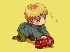 Germany/Doitsu as a child (Hetalia)