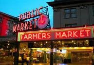 Pike Place Market is a Specialty Grocery Store in Seattle. Plan your road trip to Pike Place Market in WA with Roadtrippers. Oh The Places You'll Go, Great Places, Places To Travel, Places Ive Been, Beautiful Places, Amazing Places, Travel Sights, Travel Souvenirs, Beautiful Scenery