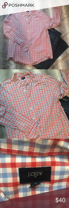 J Crew Button Down Shirt Great condition- J Crew Button Down Slim Fit XL  Listing is for shirt only. J. Crew Shirts Casual Button Down Shirts