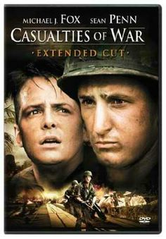 Casualities of War (1989)  I watched this movie once but in all these years have never been able to watch it again because I found it so disturbing. It is the true story of the kidnap and repeated rape of a young Vietnamese girl by American soldiers during the Vietnam War. Excellent acting...so excellent that I've never been able to watch it again.   #VietnamWarMovies