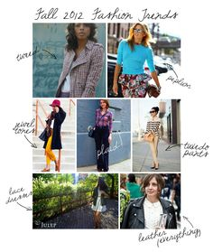 fall 2012 trends -