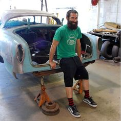 Aaron kaufman no beard what gas monkey garage pinterest aaron