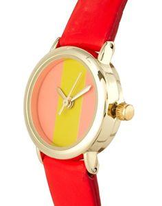ASOS color block watch $17