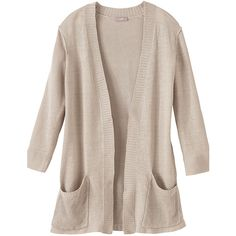 linen multistitch cardigan (98 AUD) ❤ liked on Polyvore featuring tops, cardigans, outerwear, jackets, sweaters, pink cardigan, cardigan top, linen tops, pink top and linen cardigan