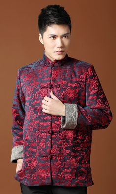 Chinese style jacket is cultural.Flaunt your elegant looks in Chinese clothing for men living creatively in cutting edge Fashion style. Browse through our collection of New Arrivals for men in jackets and celebrate the mix-matching style of Chinese Men Fashion that reflects the traditional fashion clothing. Get perfect blend of style and comfort that suits your personality. By: ML